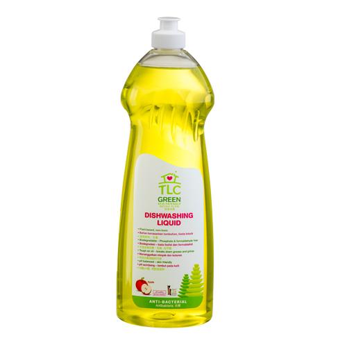 TLC Green Dishwashing Liquid Apple