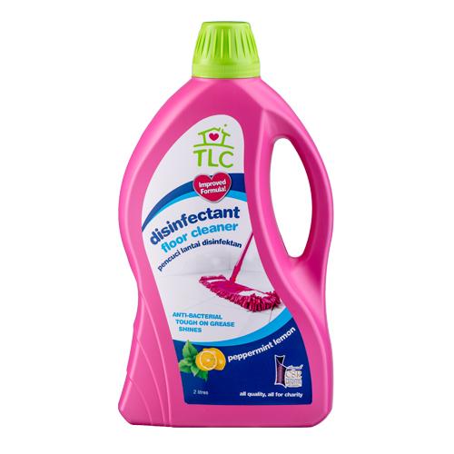 TLC Disinfectant Floor Cleaner Peppermint Lemon