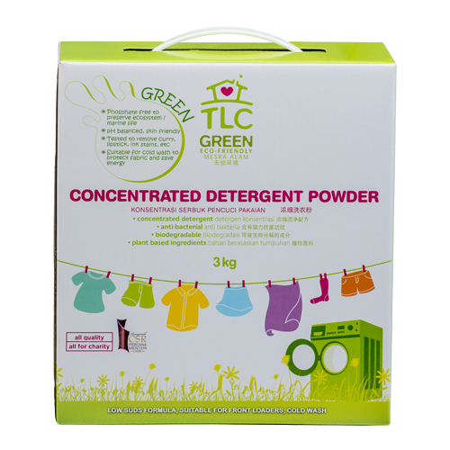 TLC Green Concentrated Laundry Detergent Powder