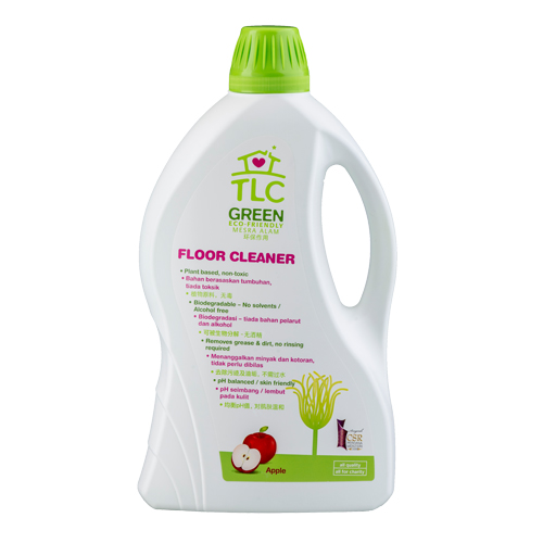 TLC Green Floor Cleaner Apple