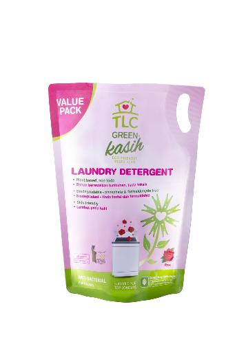 TLC Green Kasih Laundry Detergent Rose (Refill Pack)